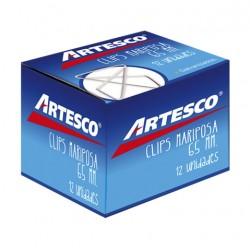 Clips Mariposa 45 Mm X 50 Unds y 65Mm x12 Unds Artesco