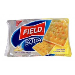 FIELD GALLETAS SODA X 204 GR. SIX PACK