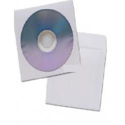 Sobre porta CD blanco paq x 50unid. GRAFI PAPEL
