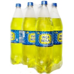 INCA KOLA GASEOSAS NORMAL X 1500 ML. X 6 UN