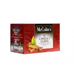 MC. COLINS X 25 TE CANELA CLAVO