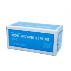 MASCARILLAS DESCARTABLES CAJA X 50 UN