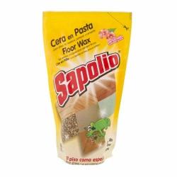 Cera en pasta para pisos Sapolio amarilla doypack 300ml