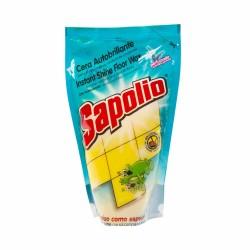 Cera liquida autobrillante Sapolio amarilla doypack 300ml