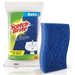 Esponja De Baño Scotch-brite Azul