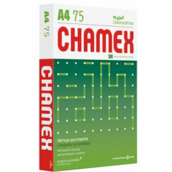 PAPEL FOTOCOPIA CHAMEX 75GR A-4 AMARILLO (PACK X 500)