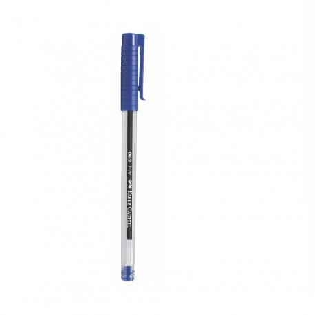 Bolígrafo 062 Azul Faber Castell