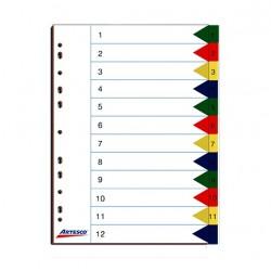 Separador index T/A-4 12 DIV artesco