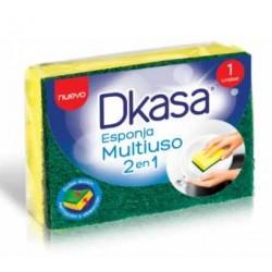 Esponja multiuso 2 en 1 Dkasa