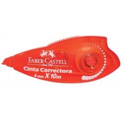 Cinta correctora Faber-Castell 4mm X 10m