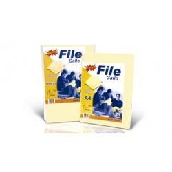 Folder Manila Gallo A-4 (PRES 25 unid paquete)