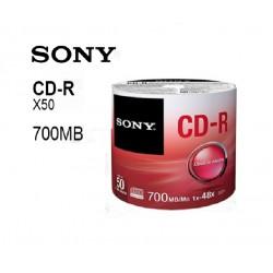 CD-R SONY 50 Unidades 700MB