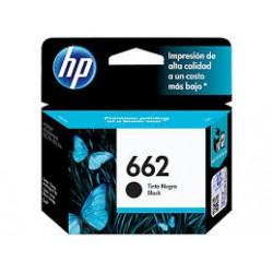 Cartucho de Tinta Negra HP 662