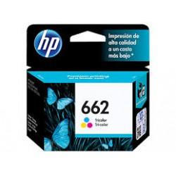 Cartucho de Tinta tricolor HP 662