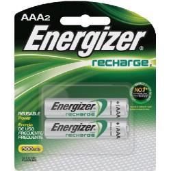 PILAS RECARGABLES ENERGIZER AAAx2